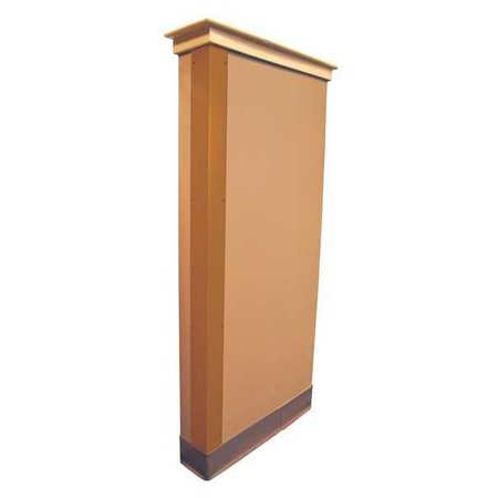 Corner Guard, Bronze, 1x48in, Adhesive