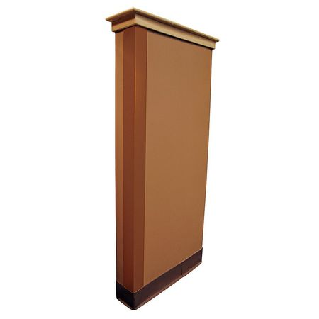 Corner Guard, Bronze, 2x48in, Adhesive