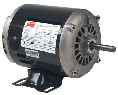 GP Mtr, Split Ph, ODP, 1/3 HP, 1725 rpm, 56Z