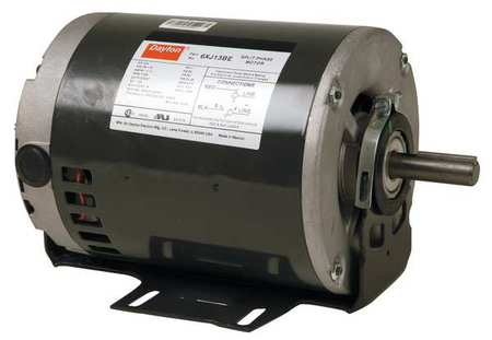 GP Mtr, Split Ph, ODP, 1/2 HP, 1725 rpm, 56