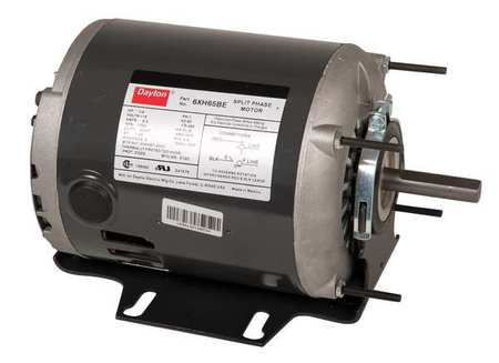 GP Mtr, Split Ph, ODP, 1/6 HP, 1140 rpm, 56Z