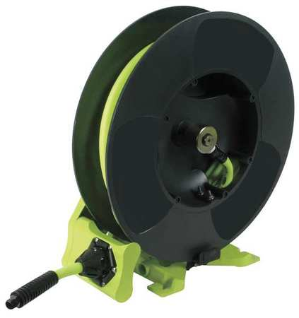 "1/2"" x 50 ft. Spring Return Hose Reel with Hose 300 psi"