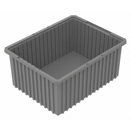Divider Box,  22-3/8 x 17-3/8 x 10 In,  Gray