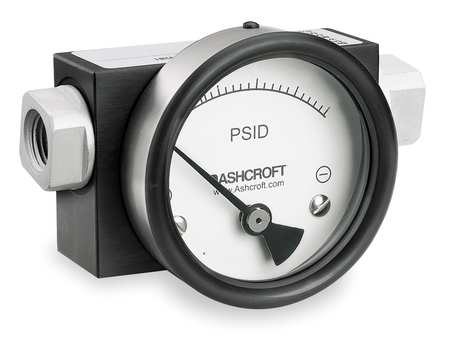 Pressure Gauge, 0 to 15 psi