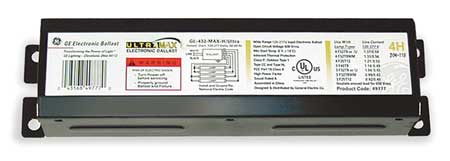 GE LIGHTING 68 Watts,  3 Lamps,  Electronic Ballast