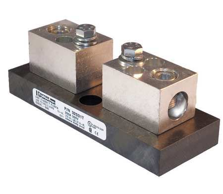 Fuse Block, Industrial, 200A, 1 Pole