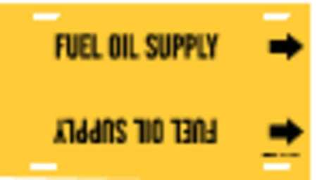 Pipe Markr, Fuel Oil Supply, Y, 6to7-7/8 In