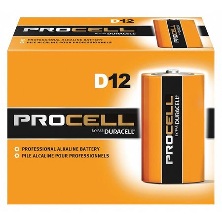 DURACELL Alkaline D Batteries,  12 Pack