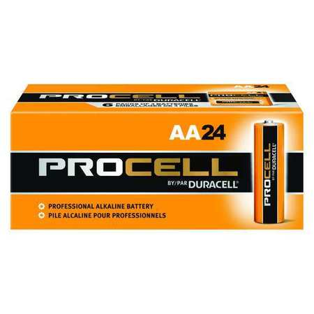 DURACELL Alkaline AA Batteries,  24 Pack