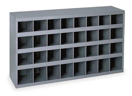 Bin Unit, 32 Bins, 33-3/4x12x19-1/4 In.