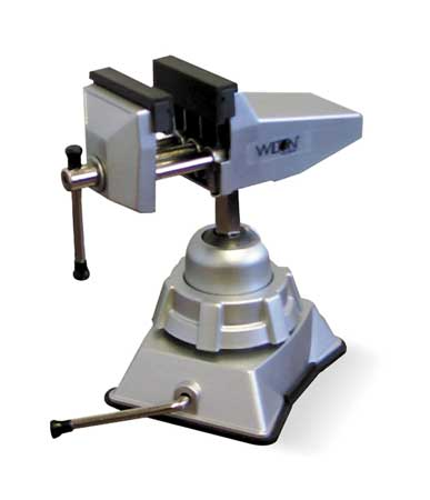Multi-Angle Vise, Vacuum,  Swivel, 2-3/4 In