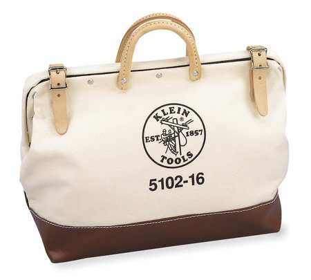 "16"" General Purpose Tool Bag,  Brown,  Tan"