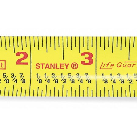 25 ft. Fractional Read Tape Measure