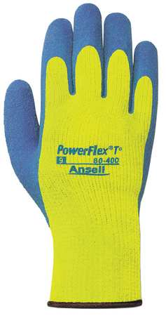 Cut Resistant Gloves, 2XL, Blue/Yellow, PR