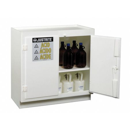 Acid Safety Cabinet, 36-3/4 In. H