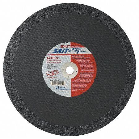 """CutOff Wheel, A24R XFC, 14""""x.125""""x20mm"""