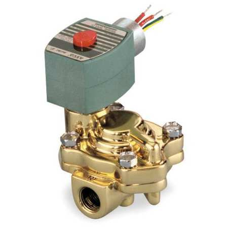 "3/4"" NPT 2-Way Hot Water Solenoid Valve 120VAC"