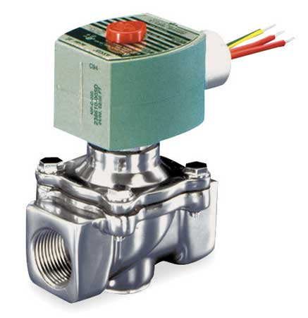 "3/4"" NPT 2-Way Fuel Gas Solenoid Valve 120VAC"