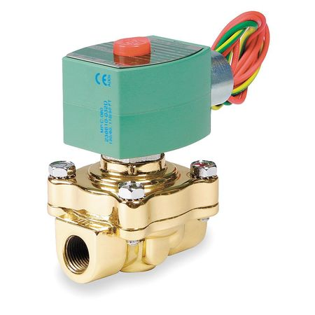 "3/4"" NPT 2-Way Steam Solenoid Valve 120VAC"