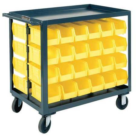 Bin Cart, 24x36x35 In., 1200 lb. Cap.