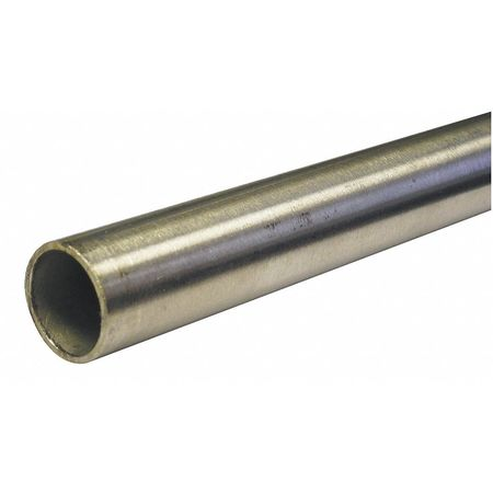 "1-1/2"" OD x 6 ft. Seamless 304 Stainless Steel Tubing"
