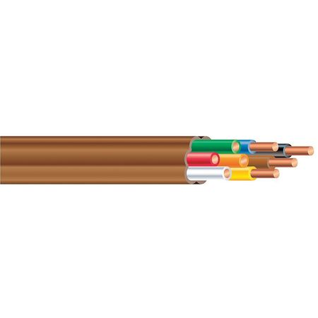Thermostat Cable, 250ft, 0.20 Diameter, CL2