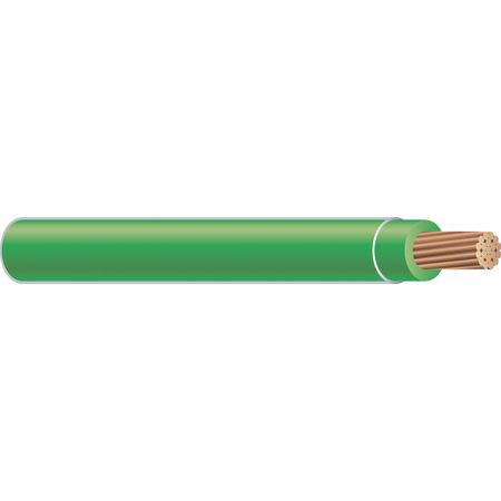 Machine Tool Wire, 8 AWG, 50 Amps, Green