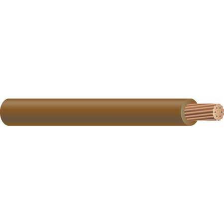 Machine Tool Wire, 14 AWG, 15 Amps, Brown