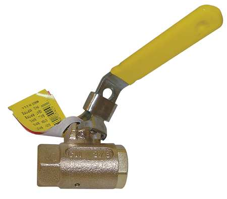Bronze Ball Valve, Inline, FNPT, 2 in