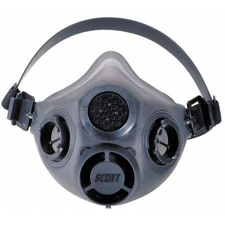 Scott Xcel(TM) Half Mask Respirator,  M/L