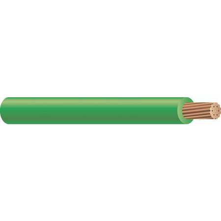 Machine Tool Wire, 10 AWG, 30 Amps, Green