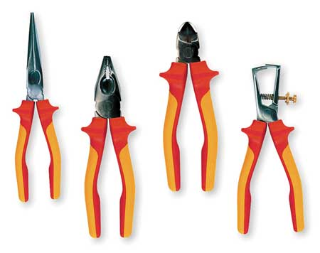 Insulated Plier Set, 4 pc.