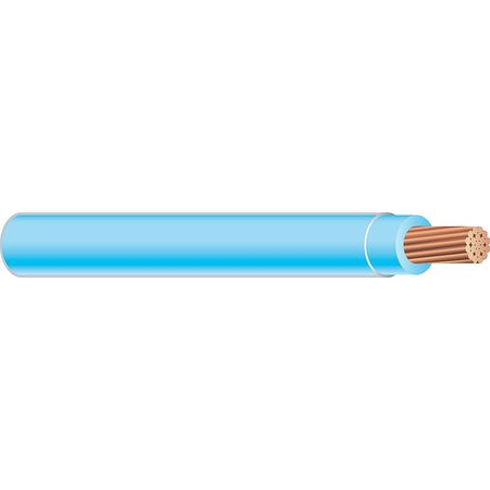 Machine Tool Wire, 18 AWG, 6 Amps, Blue
