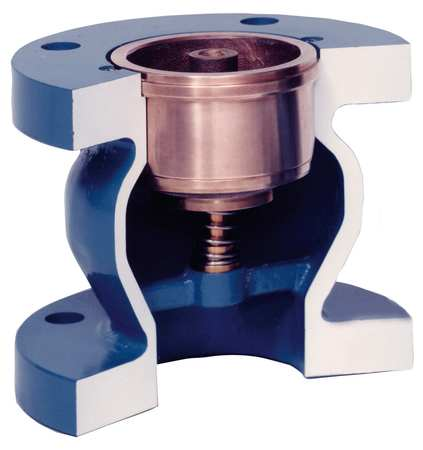 Silent Check Valve, Cast Iron ASTM A 126