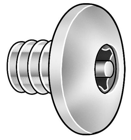 Binding Screw, 1 In L