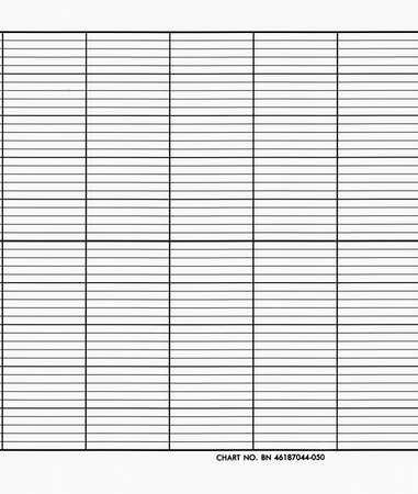 Strip Chart, Roll, Range None, Length 79 Ft
