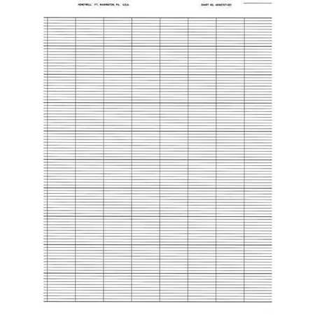 Strip Chart, Fanfold, Range None, 115 Ft