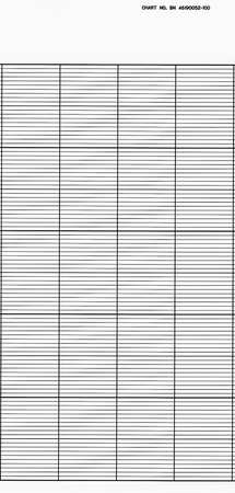 Strip Chart, Roll, Range None, Length 115Ft