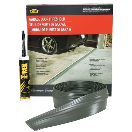 Garage Door Threshold Kit, Smooth/Fluted