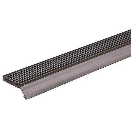 Door Frame Weatherstrip, Brown, 108 In