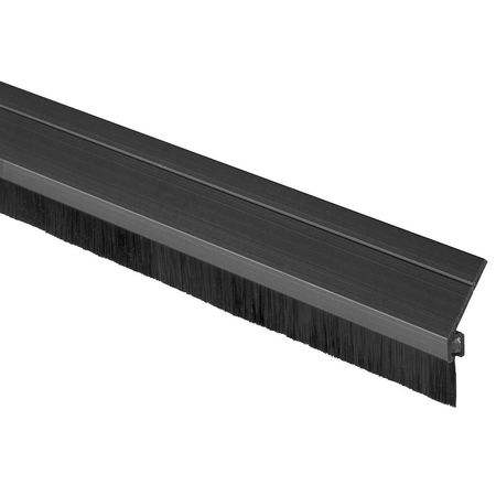 Door Frame Weatherstrip, 7 ft, Black