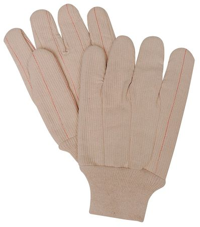 Heat Resistant Gloves, Natural,  L, PR