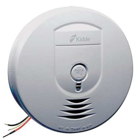 Smoke Alarm, Ionization, Wireless, 120VAC
