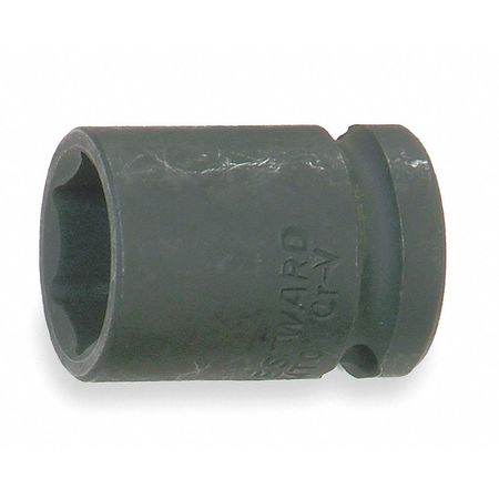 Impact Socket, 1/2In Dr, 3/4In, 6pts