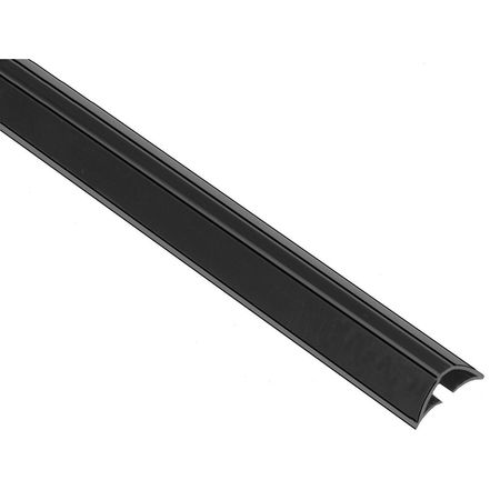Smoke Seal, 7 ft., Charcoal, TPE Rubber