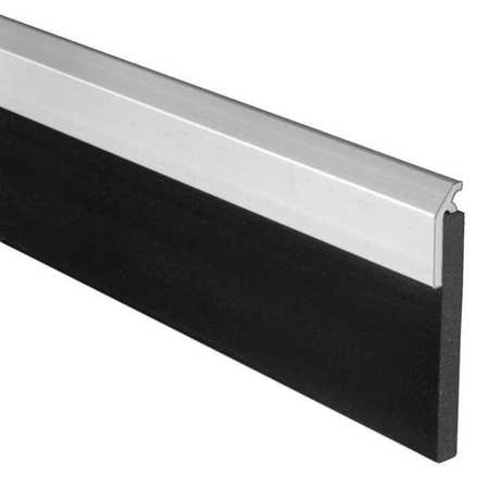 Door Sweep, Anodized Aluminum, 48 In