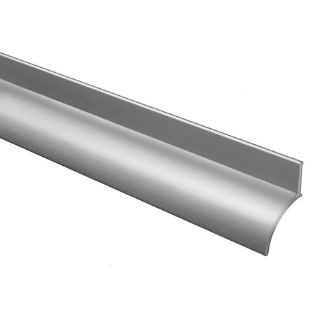Drip Door Edge, Aluminum, 52 In