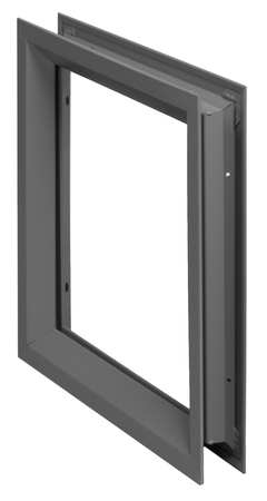 Window Frame Kit, H. 24 In,  W. 24 In