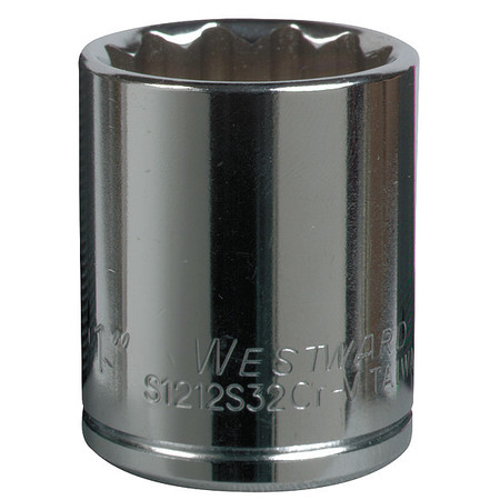 Socket, 3/8 in. Dr, 8mm, 12 Pt.