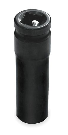 Impact Socket, 1/2In Dr, 1In, 6pts